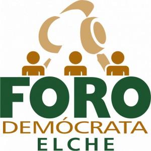 Logotipo - Foro Demócrata Elche