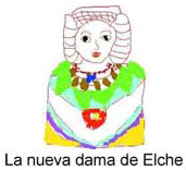 Dibujo - La nueva Dama de Elche