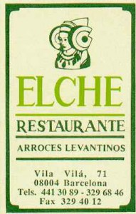 Anuncio - Elche Restaurante
