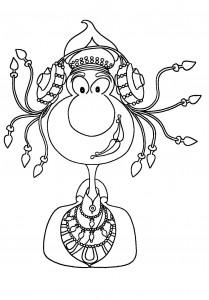 Dibujo - La Pepona de Elche
