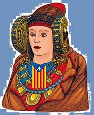 Dibujo - Dama de Elche con estelada