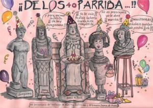 Dibujo - Viñeta 40 años del hallazgo de la Dama de Baza
