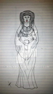 Dibujo - lady_of_elche