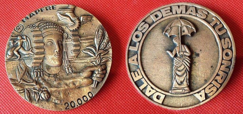 Objeto - Medalla publicitaria