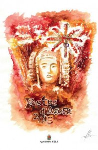 Pintura - Cartel Fiestas de Elche 2015