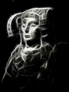 Dibujo - La Mirada de la Dama