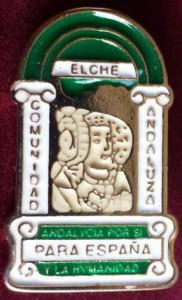 Objeto - Insignia Comunidad Andaluza de Elche