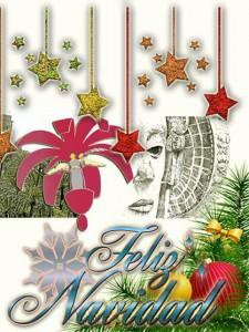 Otras técnicas artísticas - Felicitación de Navidad