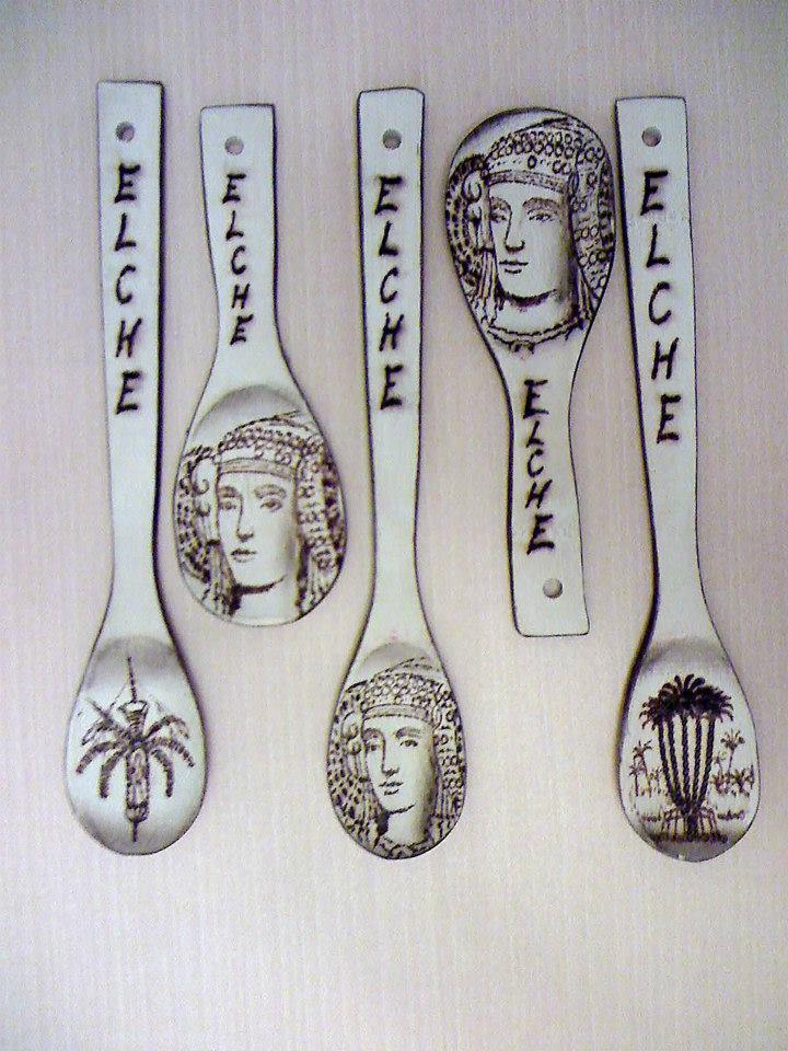 Objeto - Cucharas Dama de Elche