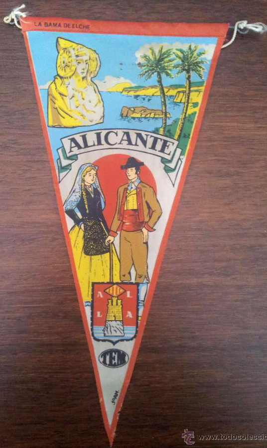 Objeto - Banderín Alicante