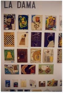 Otras técnicas artísticas - Mail Art sobre la Dama de Elche