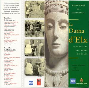 Anuncio - La Dama d'Elx