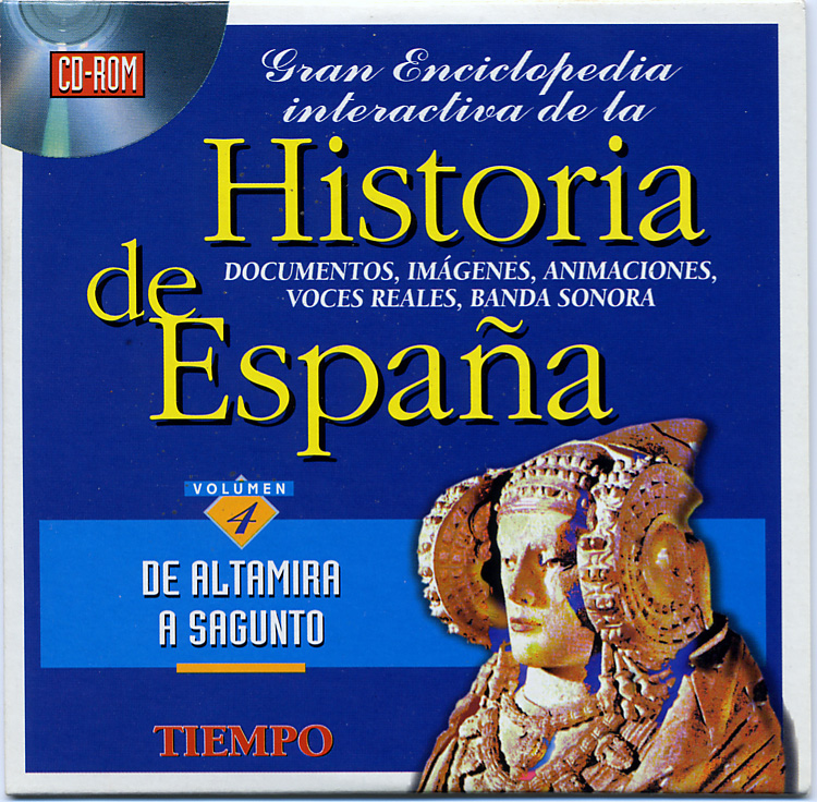 Libro - CD-Rom Historia de España