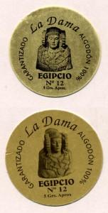 Logotipo - Algodón Egipcio nº 12 La Dama