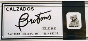 Logotipo - Calzados Brotons