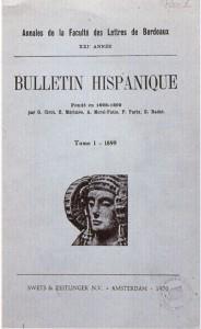 Logotipo - Bulletin Hispanique