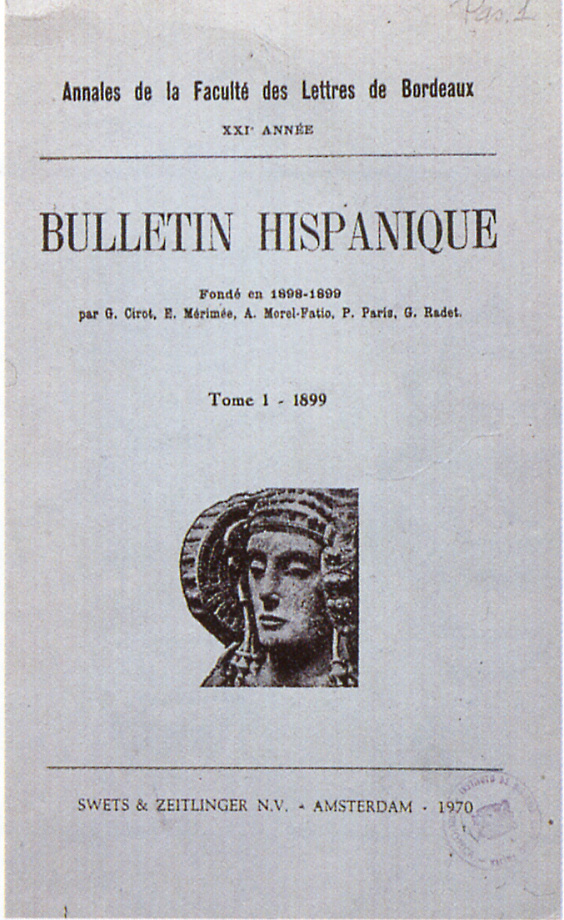Logotipo - Bulletin Hispanique