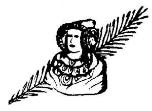 Logotipo - Floristería La Dama
