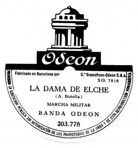 Logotipo - Disco La Dama de Elche