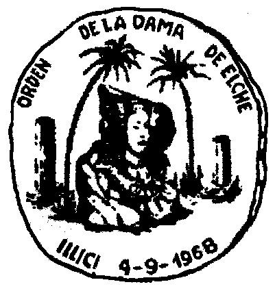 Logotipo - Real Orden de Caballeros de la Dama de Elche