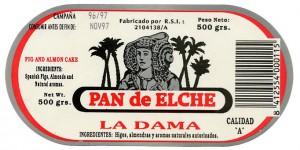 Logotipo - Pan de Elche La Dama