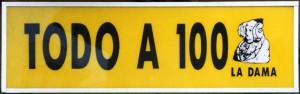 Logotipo - Todo a 100 La Dama