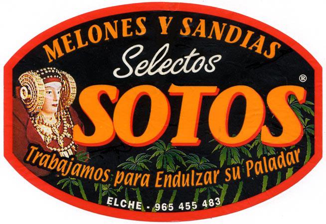 Logotipo - Melones y sandías Sotos