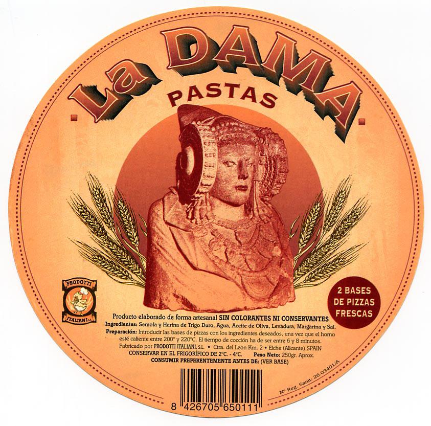 Logotipo - Pastas La Dama