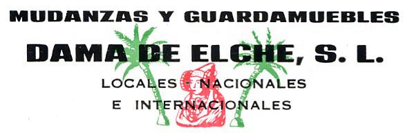 Logotipo - Mudanzas Dama de Elche