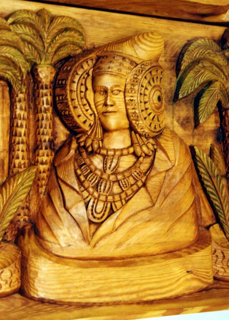 Escultura - Motivos ilicitanos - Dama de Elche