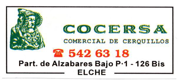 Logotipo - Cocersa Comercial de cerquillos