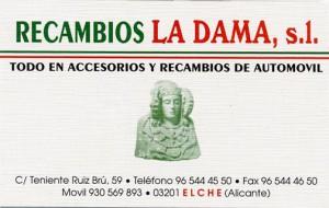 Logotipo - Recambios La Dama