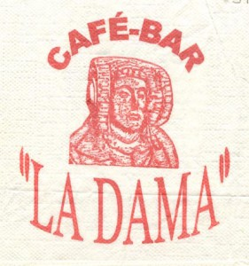 Logotipo - Café-Bar La Dama
