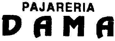 Logotipo - Pajarería Dama