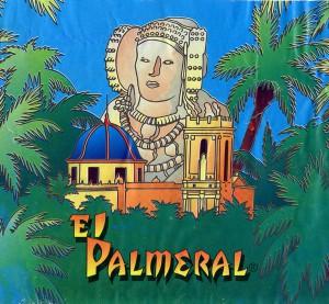 """Logotipo - Carcasa fuegos artificiales """"El Palmeral"""""""