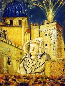 Pintura - Elche y la Dama