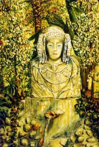 Pintura - La Dama en el Huerto