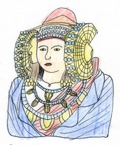 Dibujo - Dama de Héctor
