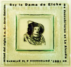 Objeto - Cenicero Dama de Elche