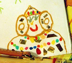 Dibujo - Dama infantil