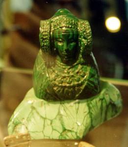 Reproducción - Dama verde