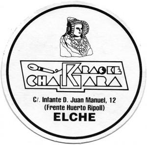 Logotipo - Posavasos Karaoke Chákara