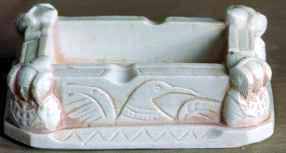 Objeto - Cenicero rectangular Dama de Elche