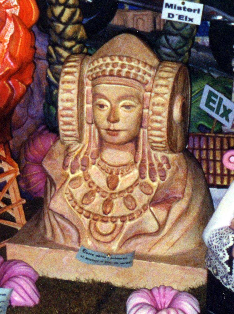 Escultura - Dama de Elche ninot
