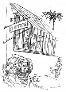 Dibujo - Tapería Mitote
