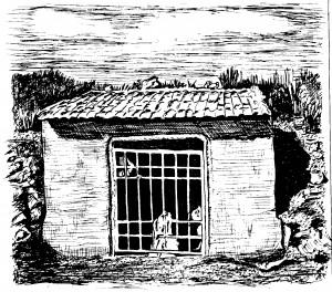 Dibujo - Lugar del hallazgo de la Dama