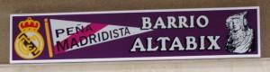 Logotipo - Peña Madridista