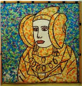 Otras técnicas artísticas - mosaico de papel
