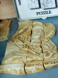 Objeto - Dama Puzzle