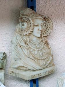 Objeto - Dama Placa
